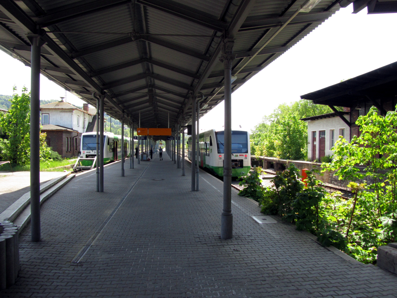 Heimfahrt ab Gleis 4