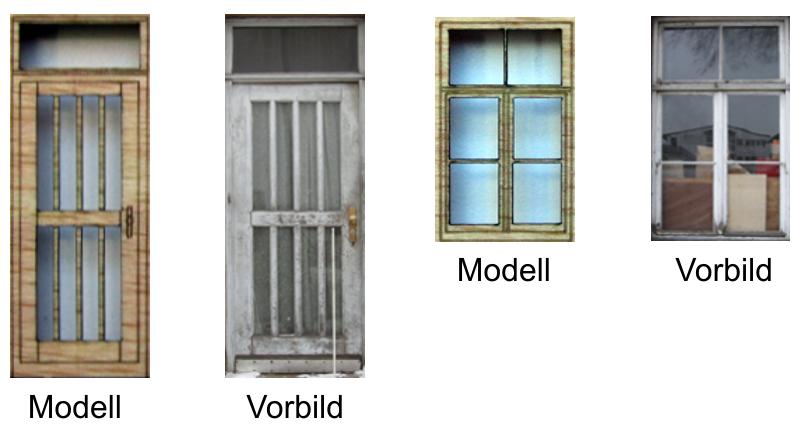 Bf Höchstadt, Fenstern und Türen