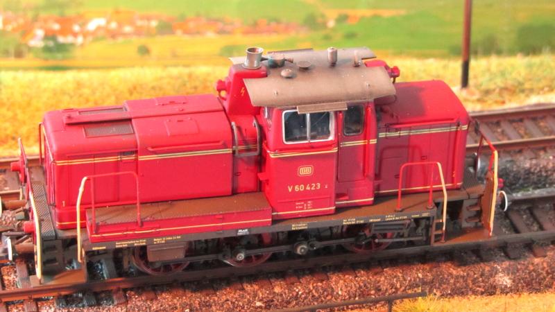 Roco V60 423, von der Seite