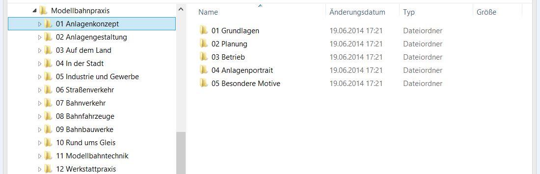 Filesystem-Struktur
