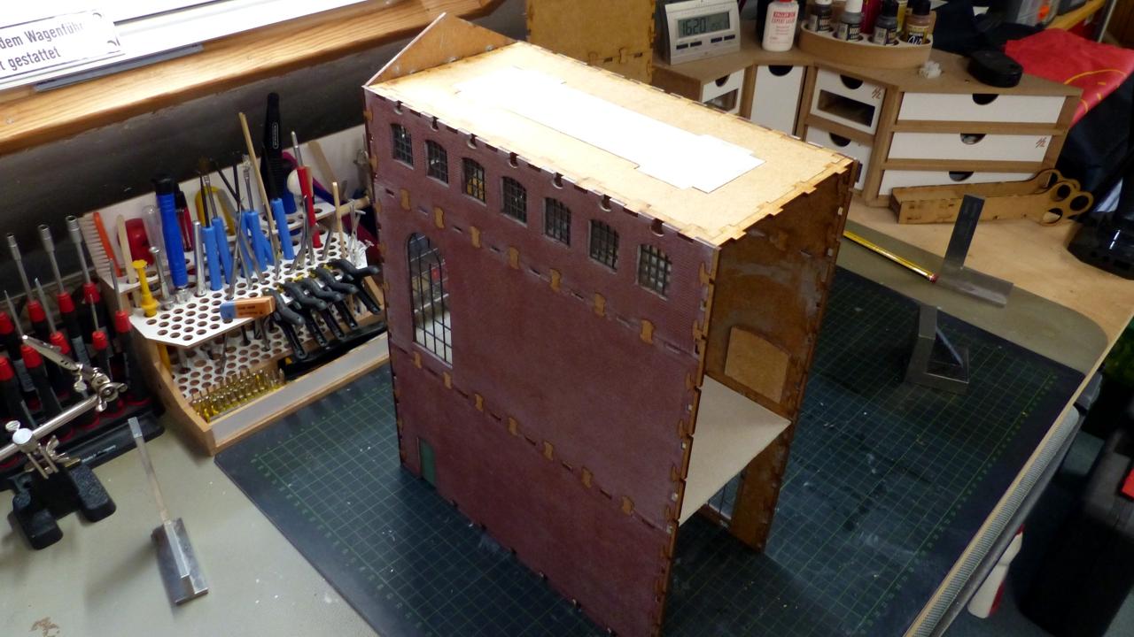 Ein Brauerei-Gebäude mit modusteck® - Gebäude, Funktionsmodelle ...